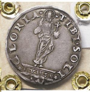 R/ VENEZIA. Pietro Lando (1539-1545). Mocenigo 6.30 gr. – 33.9 mm. Pao. 5. SPL. Rara
