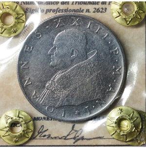obverse: Vaticano. 100 Lire 1959. SPL