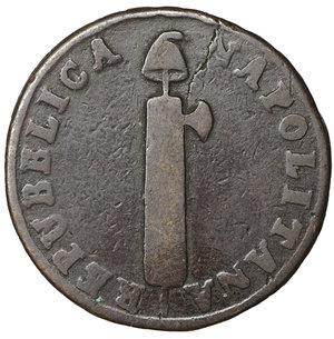 obverse: Repubblica Napoletana 4 Tornesi 1799. 13,50 gr. - 28,2 mm. Rara. BB