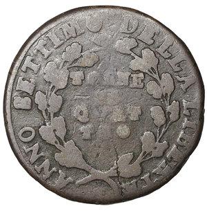 reverse: Repubblica Napoletana 4 Tornesi 1799. 13,50 gr. - 28,2 mm. Rara. BB