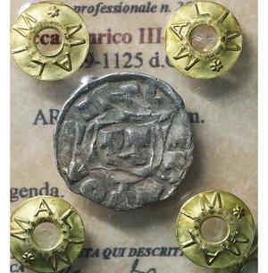 obverse: Pavia. Galeazzo II Visconti. 1359-1378 AD. Grosso da 1 Soldo e mezzo. 2.45 gr. – 25.00 mm. D:\ Cimiero con drago tra tizzoni e secchie. R:\ San Siro in trono benedicente. MIR 845. Rara. SPL