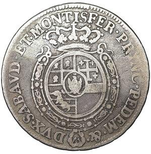 reverse: Regno di Sardegna. Carlo Emanuele III. 1730-1773. 1/4 di Scudo 1758. 8.35 gr. – 29.6 mm. MIR 948°. Raro. BB+