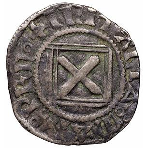 reverse: Savoia. Amedeo VIII di Savoia. Periodo ducale (1416 - 1440). Quarto di Grosso. 1.46 gr. - 18.5 mm. D:\ FERT in gotico minuscolo. R:\ Croce piana. Biaggi 2403. Non Comune. SPL