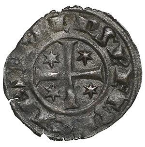 reverse: Regno di Sicilia. BRINDISI. Federico II (1197-1250). Denaro (1249). 0.51 gr. – 16.8 mm. D:\ F con tre stellette. R:\ Croce con 4 stellette. Spahr 148; MIR 298. NC. qSPL