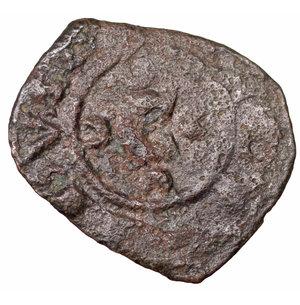 obverse: Regno di Sicilia. Corrado II (1254 - 1258). Denaro. 0.70 gr. - 15.4 mm. Denaro con C tra crescenti. BB+