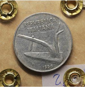 R/ Repubblica Italiana. 10 Lire 1974. qSPL. PERIZIATA