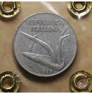 R/ Repubblica Italiana. 10 Lire 1969. qSPL. PERIZIATA