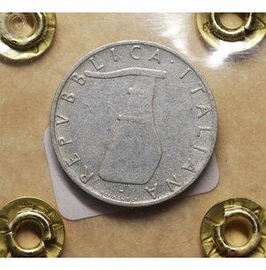 R/ Repubblica Italiana. 5 Lire 1955. BB\SPL. PERIZIATA