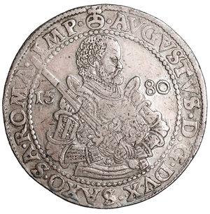obverse: Sachsen-Albertinische Linie. Taler 1580 HB.