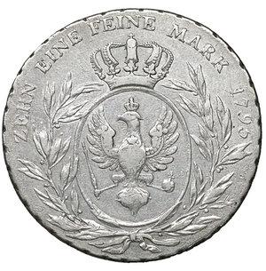 reverse: Germany. Prussia. Friedrich Wilhelm II. 1786-1797. Taler 1795, Berlin. 27.85 gr. – 39.2 mm. Dav. 2600, J.182, Olding. 55. XF