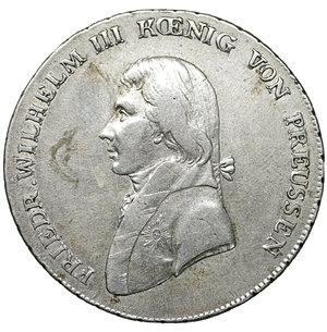 obverse: Germany. Prussia. Friedrich Wilhelm III. 1797-1840. Taler 1799 A, Berlin. 22.00 gr. – 36.9 mm. Dav. 2603, Olding 102. XF