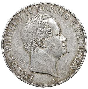 obverse: Germany. Prussia. Friedrich Wilhelm IV. 1797-1840. Double Taler 1844 A, Berlin. 36.95 gr. – 40.9 mm. AKS 69, J 71. XF