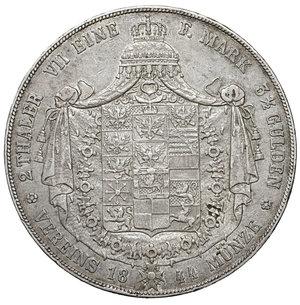 reverse: Germany. Prussia. Friedrich Wilhelm IV. 1797-1840. Double Taler 1844 A, Berlin. 36.95 gr. – 40.9 mm. AKS 69, J 71. XF