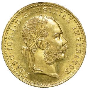 obverse: Austria Francesco Giuseppe Ducato 1915. 3,50 gr. - 20,0 mm. FDC