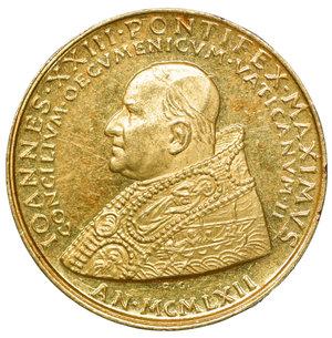 obverse: Vaticano Medaglia oro Giovanni XXIII 1962. 7,00 gr.- 22,0 mm, FDC
