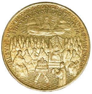 reverse: Vaticano Medaglia oro Giovanni XXIII 1962. 7,00 gr.- 22,0 mm, FDC