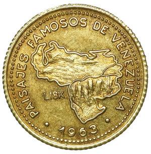 obverse: Venezuela Gold Medal 1963. 3,20 gr. 17,6. Campo Carabobo. FDC