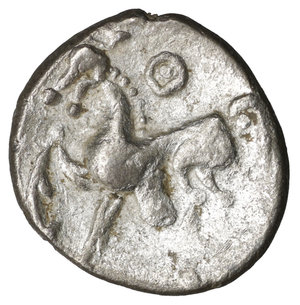 reverse: Celts. Imitations of Philip II of Macedon (2nd-1st centuries BC). Drachm.
