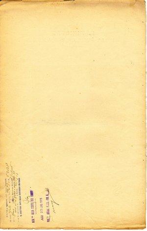 reverse: Roma. 1923. Documento ministeriale con firma Autografa del Ministro dell istruzione Giovanni Gentile. Importante filosofo e politico.
