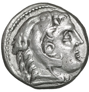 obverse: Kings of Macedon.  Amphipolis . Alexander III