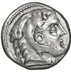 obverse: Kings of Macedon.  Amphipolis . Alexander III
