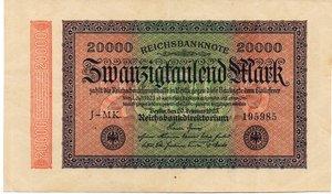 obverse: Germany - 20000 MARCHI 1923