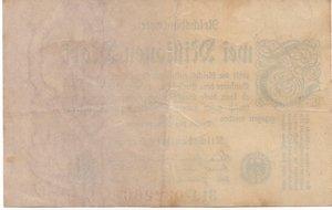 reverse: Germany - 2 MILIONI DI MARCHI 1923