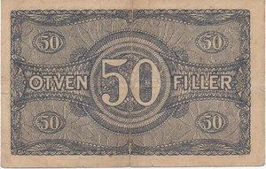 obverse: Hungary 50 FILLER 1920