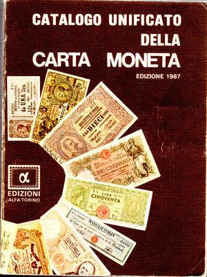 obverse: Catalogo unificato della cartamoneta. Edizioni Alfa. 1987. Pag. 293.