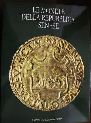 obverse: Le Monete della Repubblica Senese. Toderi, Strozzi. Monte dei paschi di Siena. 1992. R. Pag 439. A colori su carta lucida