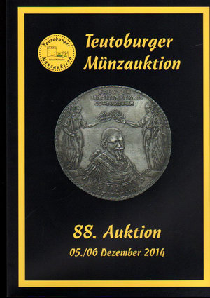 D/ Auction catalogue. Teutoburger Munzauktion. N°. 88. 05-06 Dezember 2014. Pag. 362