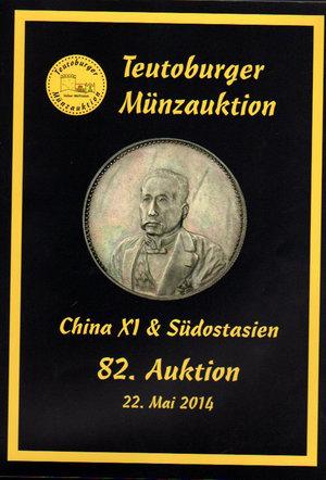 obverse: Auction catalogue. Teutoburger Munzauktion. N°. 82. China & Sudostasien. 22 Mai 2014. Pag. 161
