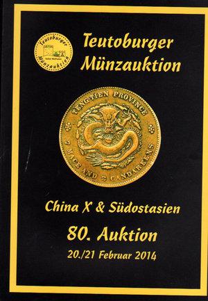 obverse: Auction catalogue. Teutoburger Munzauktion. N°. 80. China & Sudostasien. 20-21 Februar 2014. Pag. 240