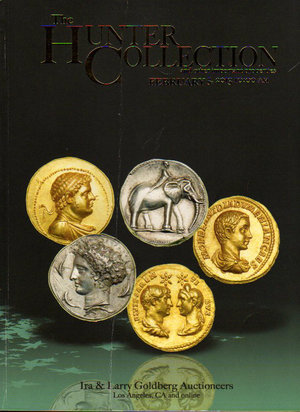 obverse: Auction catalogue. Ira & Larry Goldberg coin. The hunter collection. 5.02.2013. Pag. 272. Extremely rare coins