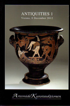 obverse: Auction Catalogue. Antiquities 1 Vienna. 08.12.2012. Pag. 64. A collection of greek pottery