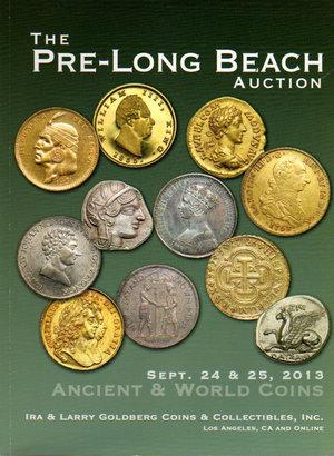 obverse: Auction Catalogue. The pre-long beach Auction. 24-25 Sept. 2013. Pag. 243