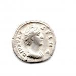 obverse: FAUSTINA I (141), Roma. AR Denarius (3,36 gr.). R.\: AVGVSTA. RIC II. qSPL.