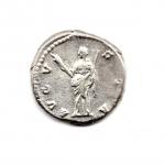 reverse: FAUSTINA I (141), Roma. AR Denarius (3,36 gr.). R.\: AVGVSTA. RIC II. qSPL.