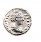 obverse: FAUSTINA I (141), Roma. AR Denarius (2,74 gr.). R.\: CONCORDIA. BB+.