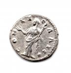 reverse: FAUSTINA I (141), Roma. AR Denarius (2,74 gr.). R.\: CONCORDIA. BB+.