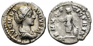 obverse: LUCILLA (164-169). Roma. AR Denarius (2,06 gr. - 18 mm.). R\: VENVS VICTRIX. qBB. NC.