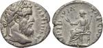 obverse: PERTINACE (192-193), Roma. AR Denarius (2,39 gr. - 17 mm.). D.\: IMP CAES P HELV PERTIN AVG - testa laureta a destra dell imperatore. R.\: OPI DIVIN TR P COS II - Opi seduta a sinistra, con spiga di grano. RIC 8a. BB-qBB. RR.