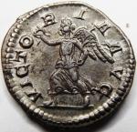 reverse: ALESSANDRO SEVERO(222-235), Roma. AR Denarius (2,98 gr. – 17 mm.) - R.\: VICTORIA AVG. C. 556. SPL-qSPL.