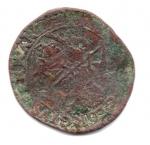 reverse: FERRARA. Urbano VIII. 1623-1644. Quattrino 1623. Cu. MB. RR/R2.