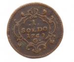 obverse: GORIZIA. 1 Soldo 1769. Cu. qBB. NC.
