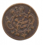 reverse: GORIZIA. 1 Soldo 1769. Cu. qBB. NC.