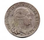 obverse: NAPOLI. Ferdinando IV. Piastra 120 grana del 1798. 9° tipo. AG. BB.