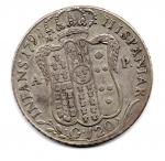 reverse: NAPOLI. Ferdinando IV. Piastra 120 grana del 1798. 9° tipo. AG. BB.
