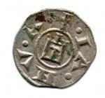 reverse: Genova. XII sec. Denaro in mistura. Discreto.