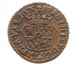 obverse: GRAN DUCATO DI TOSCANA. Leopoldo II. 5 Quattrini 1830. Cu. QSPL. Rara.